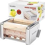 Innovee machine à ravioli - 150 mm amovible raviolis emporte-pièces - Fonctionne avec Innovee à pâtes et d'autres marques - Haute Qualité en acier inoxydable ravioli machine