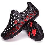 Aeoss Men Women's Beach Walking Sandals, Comfortable Water Shoes Casual Garden Shoes (39)