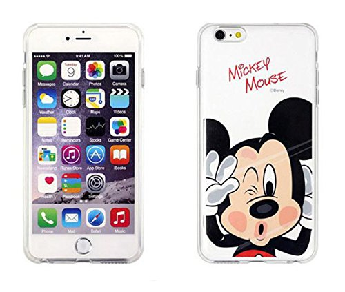 Disney Winnie Mickey Daisy & Donald Duck Clear TPU Soft Case For Apple iPhone7 Plus MICKEY MOUSE .1 MICKEY MOUSE .1
