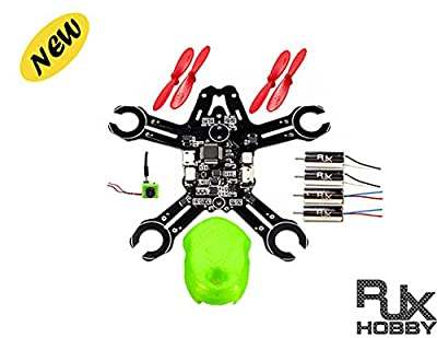 RJX 95mm Brush FPV Racing Quadcopter Drone Kit (Unassembled)