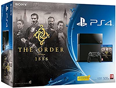 PlayStation 4: Console 500GB B Chassis + The Order: 1886 [Importación Italiana]