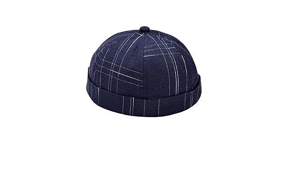 ACVIP Retr/à Cappello Senza Visiera Cotone Unisex Quadrature Classiche