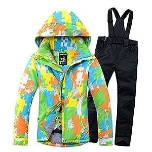 Herren Damen Skianzüge Winter wasserdicht Warmhalten Bergsportanzüge Jacken Furnier Double Board Ski Jacket Hosen