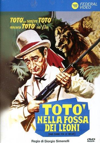 Totò Nella Fossa Dei Leoni (Dvd) usato  Spedito ovunque in Italia
