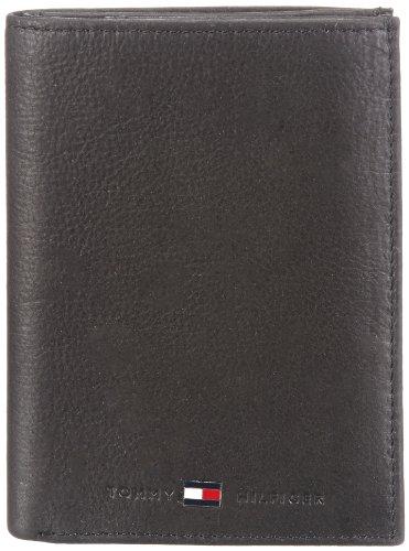 Tommy Hilfiger Johnson N/S Wallet W/Coin Pocket, Portafoglio Uomo, Nero (Schwarz (Black 990)), 10x14x2 cm (B x H x T)