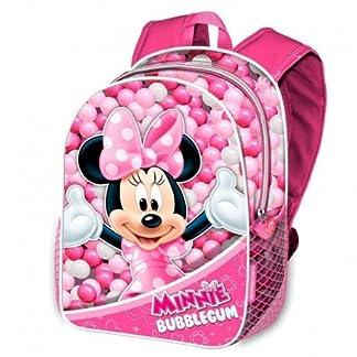 51um4KLbJuL. SS324  - Karactermania Minnie Mouse Bubblegum Mochilas Infantiles, 40 cm, Rosa