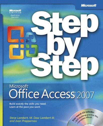 Microsoft® Office Access™ 2007 Step by Step (Step by Step (Microsoft))