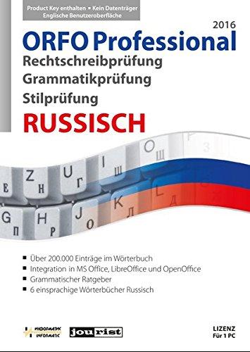 ORFO Professional 2016 Rechtschreib- und Grammatikprüfung Russisch (ORFO / Rechtschreib- und Grammatikprüfung Russisch)