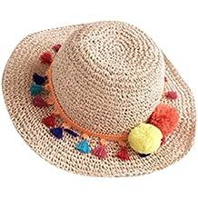 Moollyfox Verano Disquete Sombreros de Paja de Sol e14e22f9c0a