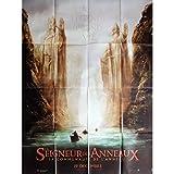 LE SEIGNEUR DES ANNEAUX - LA COMMUNAUTE Affiche de film Adv. 120x160 cm - 2001 - Viggo Mortensen, Peter Jackson