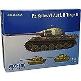 Eduard kits de plástico 3741 - kit modelo Panzerkampfwagen VI Tiger II Versión B