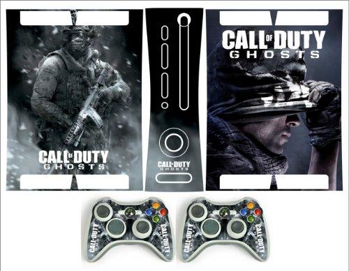 Xbox 360 Fatt Skin COD Ghosts v-2