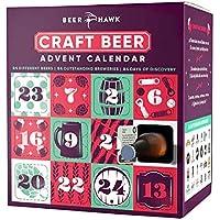 Beer Hawk 2018 Craft Beer Advent Calendar Set - 24 Craft Beer Selection Box