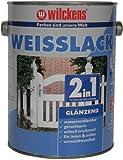 Wilckens 2-in-1 Weisslack glänzend, 2,5 L, weiß 10491100080