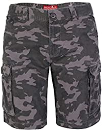 westAce Herren Armee Cargo Shorts 100% Baumwolle Camouflage Combat Bermuda  Kurz Hose b041fc5f7a