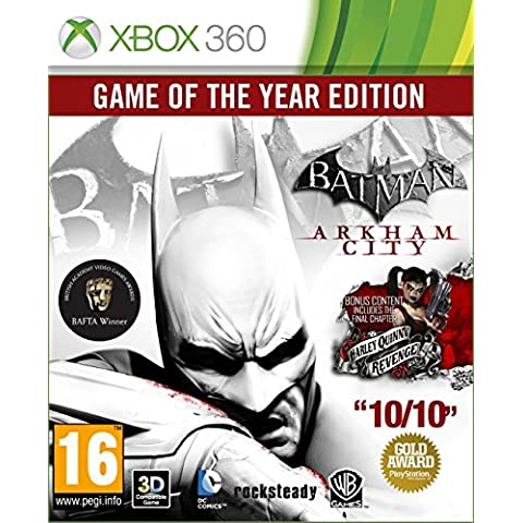 Batman: Arkham City - Game of the Year [Importación Inglesa]