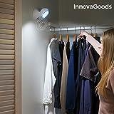 Iluminacion led armarios puertas escaleras con sensor de movimiento. 7 led. Apto para interiores y exteriores