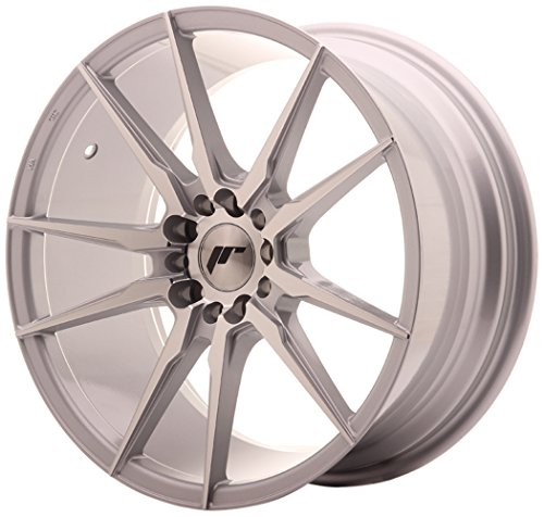 JAPAN Racing JR21 Silver machined 8.5 x 18 eT35 5 x 100/120 jantes en alliage