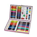 Penna di vernice Cancelleria creativa 118 pennello per bambini vestito penna acquerello set pupille pittura pratica arte Segna la penna (Colore : Bianca)
