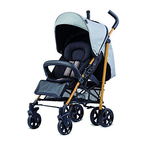 Knorr-baby 850500Buggy negro Negro