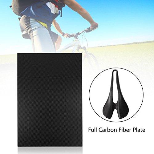 ECMQS glänzendes Carbon Ballaststoff Teller Panel Sheet 3K Plain Weben (230 * 170-2mm) -