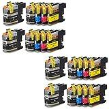 Prestige Cartridge 20 x LC-127XL LC-125XL Tintenpatronen, schwarz/cyan/magenta/gelb