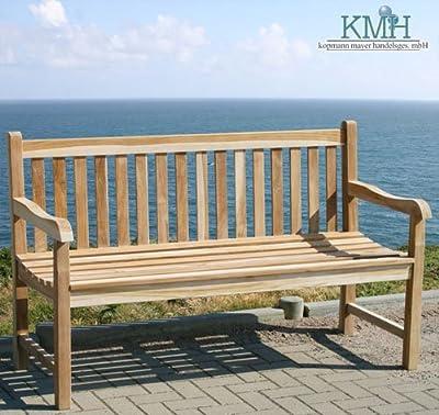 """KMH®, 4-sitzer Gartenbank """"Classic"""" - ECHT TEAK! (#102088)"""
