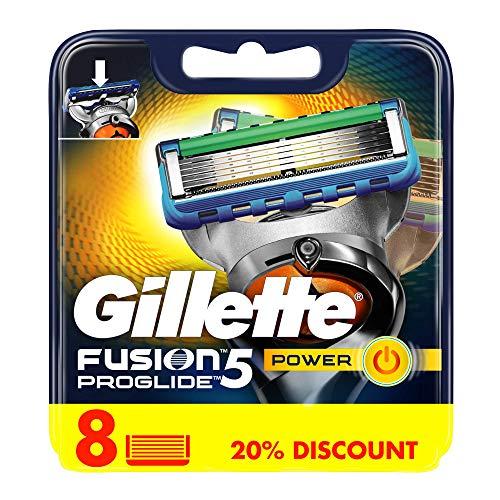 8 Stück Gillette Fusion ProGlide Power Rasierklingen -