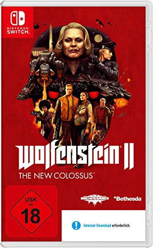 Wolfenstein II: The New Colossus - [Nintendo Switch] -