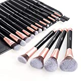 Makeup Brush Set Anjou 16 Piece Professional Cosmetic Brushes with Soft & Cruelty-Free
