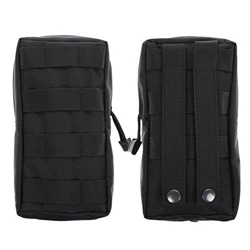 NELNISSA Medical Militär Erste Hilfe Nylon Sling Tasche (schwarz)