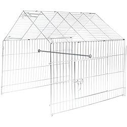 Kit de ampliación para parque de aves de corral.