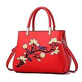 Donne borsette solido dolce Madonna temperamento borse Casual fiori ricamo borsa borse a tracolla ragazze Borsa da viaggio colore 8