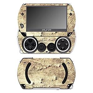 Disagu SF-14232_1052 Design Folie für Sony PSP Go – Motiv Holz No.6 transparent
