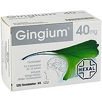 Gingium 40mg 120 stk preisvergleich bei billige-tabletten.eu