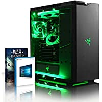 VIBOX Rainmaker 78 Gaming PC Computer with Game Voucher, Windows 10 OS (4.7GHz Intel i7 6-Core Coffee Lake Processor, Nvidia GeForce GTX 1060 Graphics Card, 16GB DDR4 RAM, 240GB SSD, 3TB HDD)