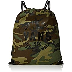 Vans BENCHED Novelty Bag Mochila Tipo Casual, 44 cm, 12 Liters, (Camo)