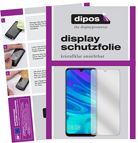 dipos I 6X Schutzfolie klar passend für Huawei P Smart Plus (2019) Folie Bildschirmschutzfolie (bewusst Kleiner als das Glas, da Dieses gewölbt ist)