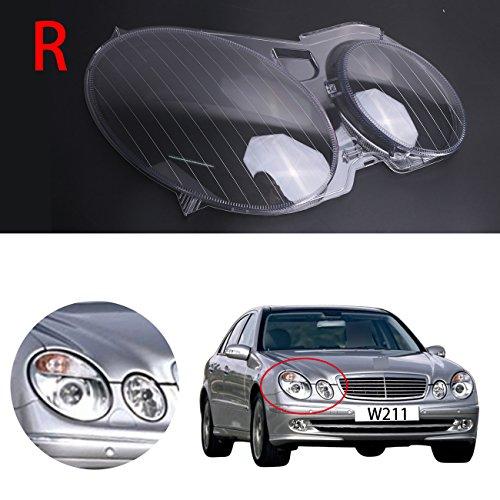Scheinwerferabdeckung Benz W211, Scheinwerferschale E320 E350 E250 E300 E500 E550 Kunststoff rechts