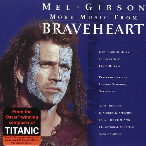 More Music from Braveheart By London Symphony Orchestra,James Horner (1999-01-04)