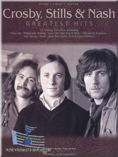 Preisvergleich Produktbild Crosby, Stills & Nash - Greatest Hits - Songbook Klavier, Gesang & Gitarre Noten [Musiknoten]