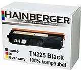 Hainberger Toner Black für Brother TN 325 schwarz 4.000 Seiten kompatibel zu TN 320/ 325/ 328