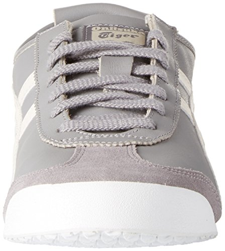 Asics Mexico 66, Basses Mixte Adulte Gris (Aluminum/birch)