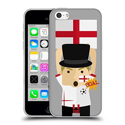 Head Case Designs Nigeria Viva Il Calcio Cover Morbida In Gel Per Apple iPhone 7 / iPhone 8 Inghilterra