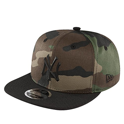 New Era Herren Caps / Fitted Cap Rubber Prime NY Yankees camouflage S/M