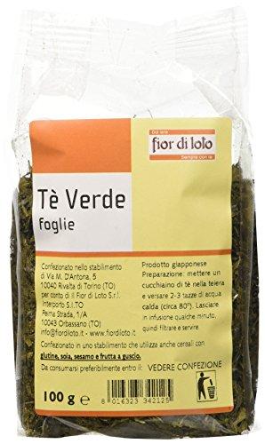 Fior di Loto Tè Verde In Foglie - 100