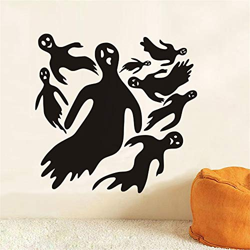 mer Cartoon Spukhaus Halloween Black Devil Ghost Kinderzimmer Kinderzimmer Home Decor ()