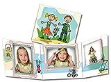 50 Stk. Portraitmappe 3-teilig für 13x18 Fotos & CD im Design