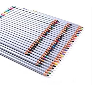 Rixow 72 Farben Ölige Buntstifte Farbstifte Colour Pencils für Kinder Malerei