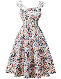 Vestidos vintage 1950s retro rockabilly cóctel fiesta pin-up vestido